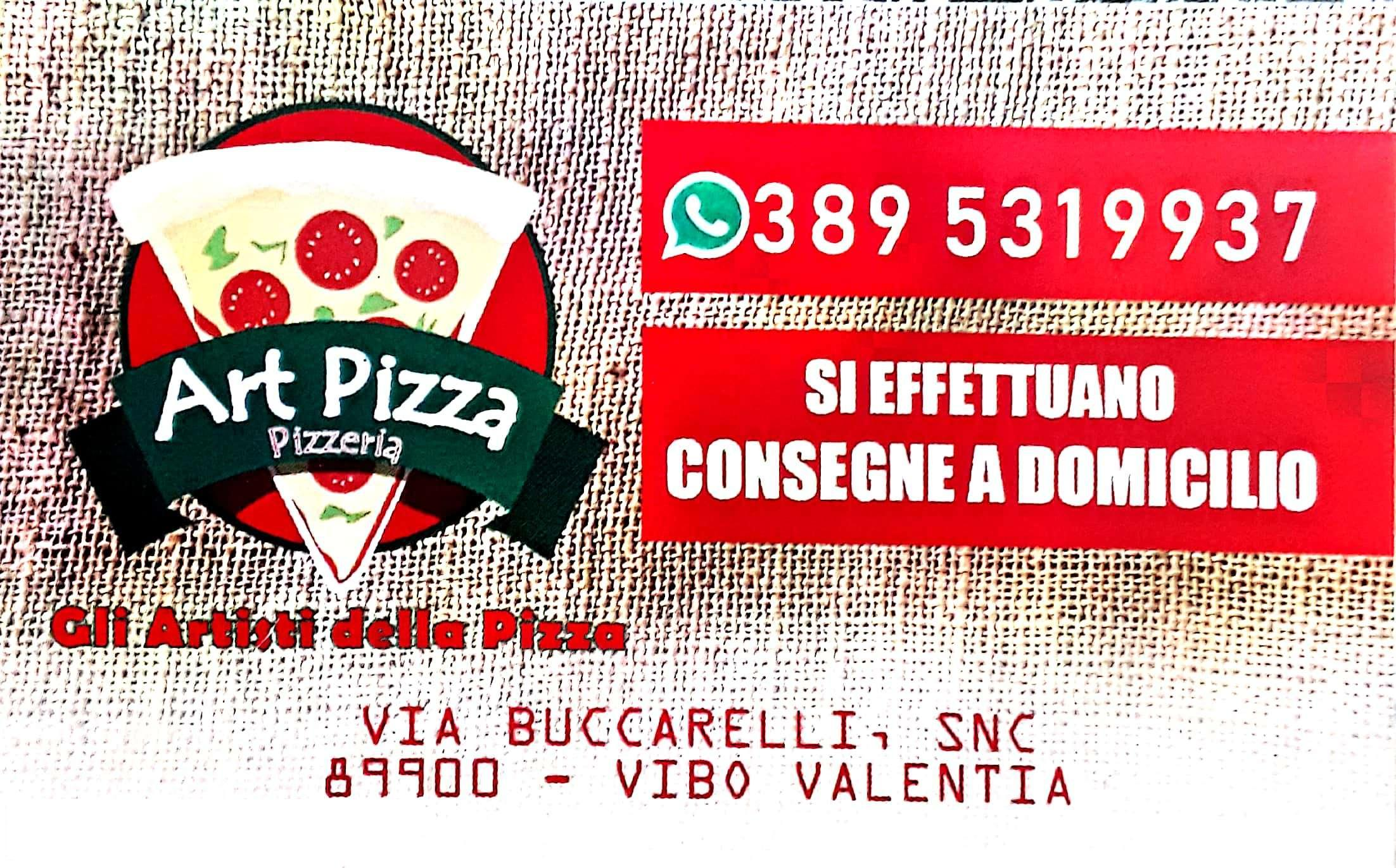 LOGO ART PIZZA