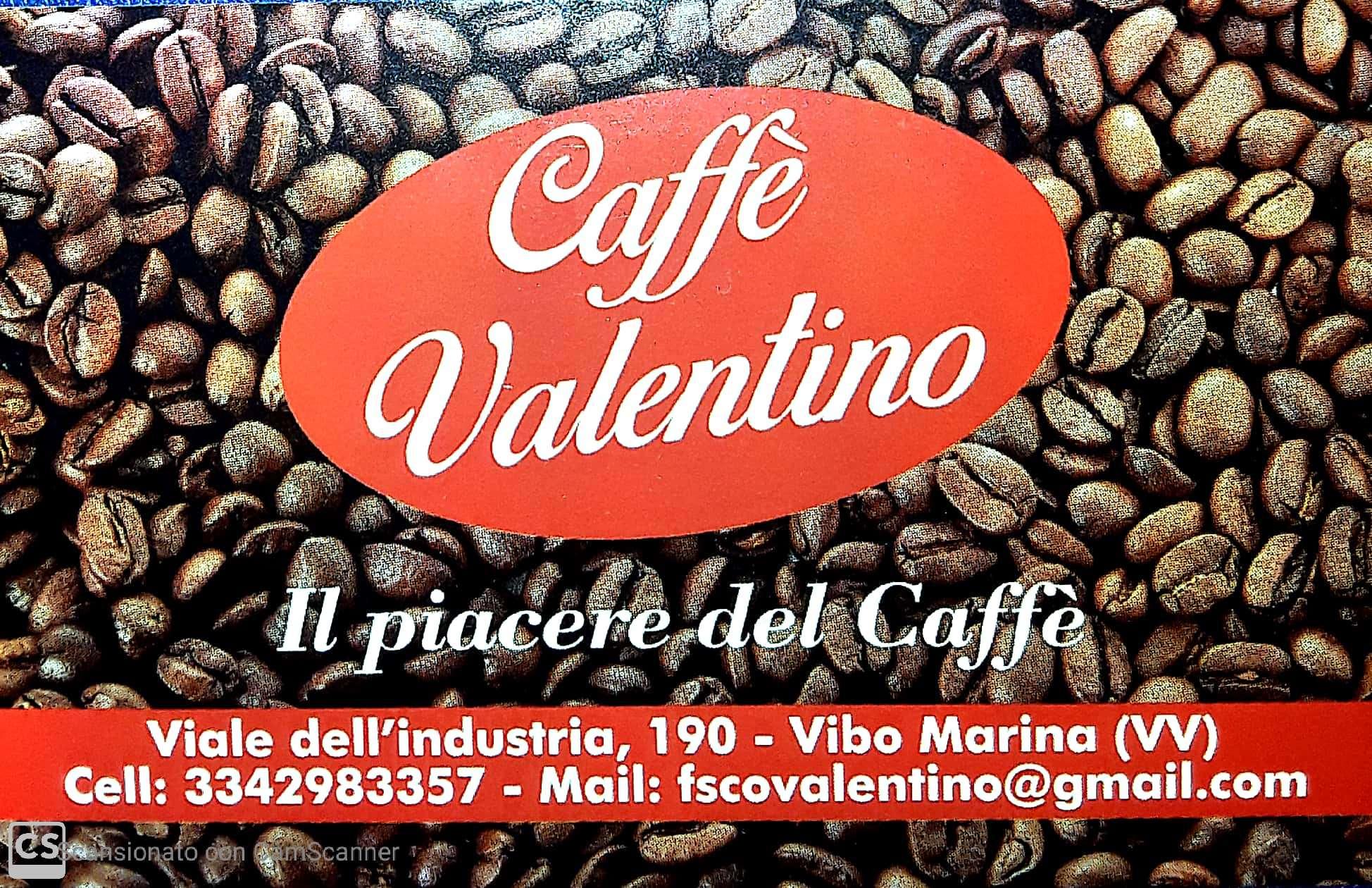 LOGO CAFFE' VALENTINO FRONTE