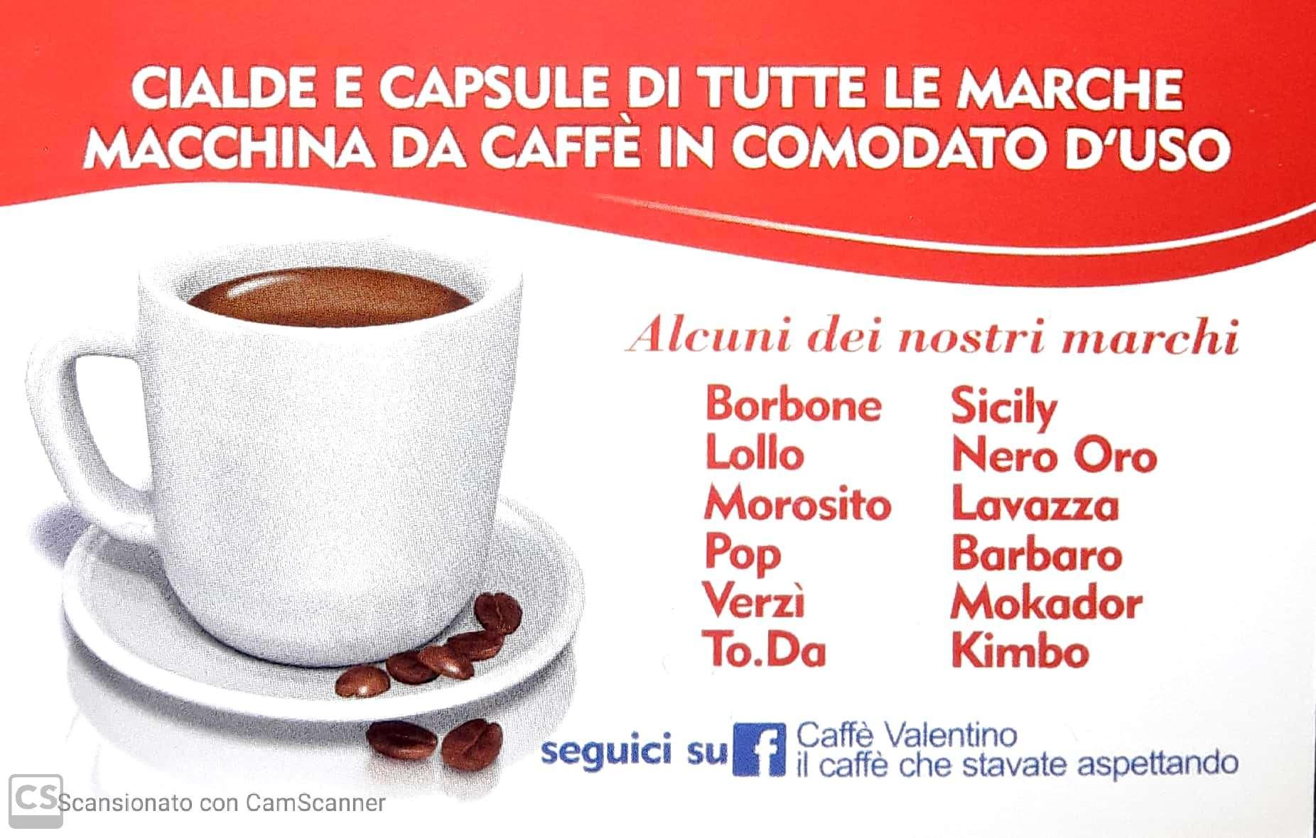 LOGO CAFFE' VALENTINO RETRO
